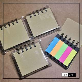 Stickynote notebook