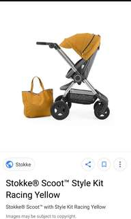 Stokke Scoot Racing Kit Yellow