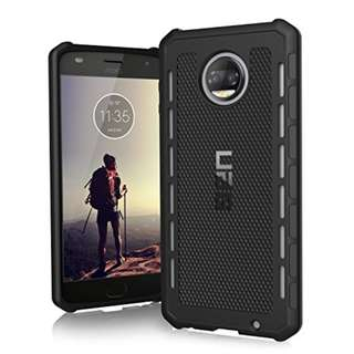 UAG Motorola Moto Z2 Force / Moto Z2 Play Outback Feather-Light Rugged [BLACK] Military Drop Tested Phone Case