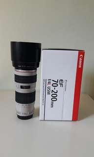 Canon ef 70-200 f4L (non is)