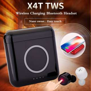 X4T True Wireless Bluetooth Mini TWS Twin Earbuds Earpiece Headset