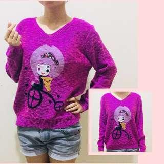 Knitted Korean Pullover
