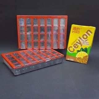 瑞典制造 28格 多用途分隔盒子 (可放維他命丸,保健丸,药物,小飾物等)