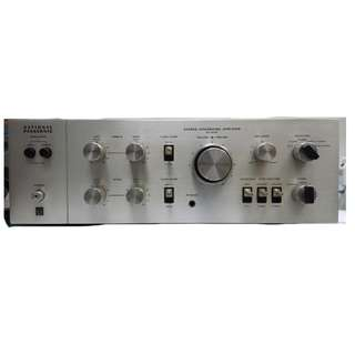 National Panasonic SU-3400 Stereo Integrated Amplifier