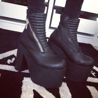 二手良品 絕版正品 UNIF Neo Boots