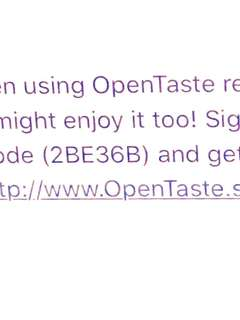 #blessing open taste code! $15 off first purchase!
