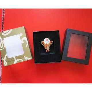 2008 北京奧運紀念品 襟章1