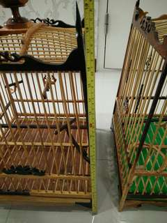 2 Thai square cage for sale (1 for 60 both for $110)