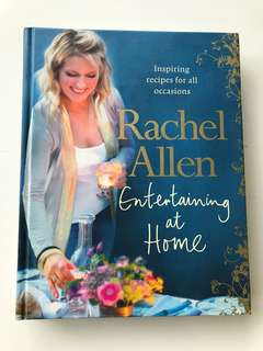 Cookbook - Entertaining At Home by TV Host Rachel Allen