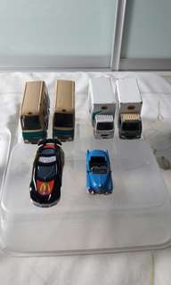 Mix cars & lorry hot wheel