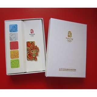 2008 北京奧運紀念品 襟章2