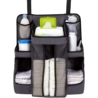 Nursery diaper wipes storage organizer