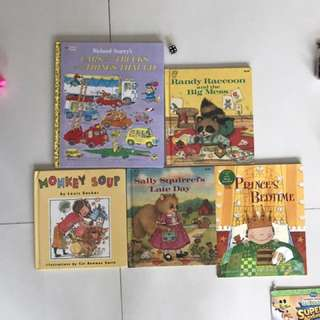 Children's books to go at cheap prices!!
