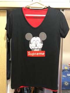 Tshirt Mickey Black