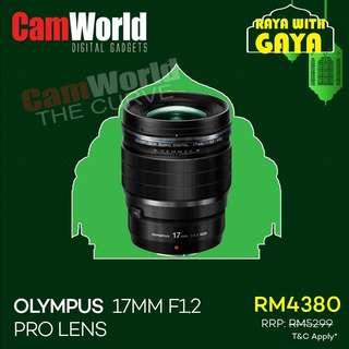OLYMPUS 17mm f1.2