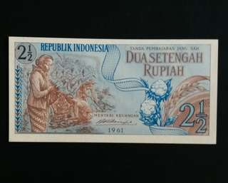 Indonesia Old Currency (1961) (Self Collect @Blk 113 J.E. St. 13, 600113)