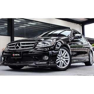 2008 Benz C300 黑 3.0