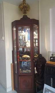Old Chinese  rosewood display cabinet