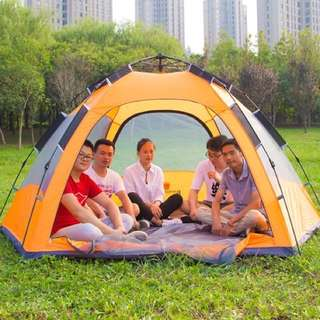 Double layer tent ⛺️ 5-8persons