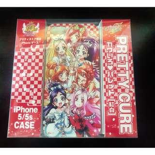 全新 日版 光之美少女 10週年 限定 紅白 iphone 5 s 機殼 Precure Pretty Cure