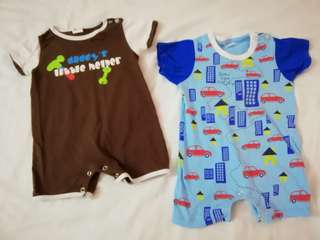 Bundle Baby Boy Rompers
