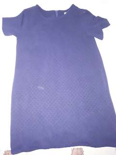 Casual dress color Navy
