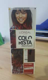 L'oreal Colorista 2 Weeks Hairdye in Red