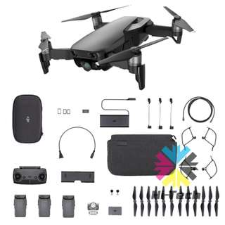 DJI Mavic Air 全能套裝 香港行貨 DJI Mavic Air Fly More Combo with 1 Year Hong Kong Wty