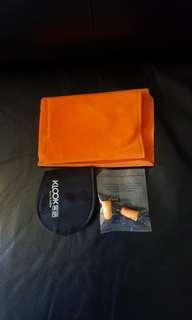 [包郵] 全新旅行包 有充氣頸枕 耳塞 眼罩 旅行必備