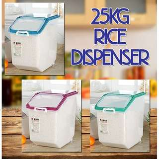 25 KG RICE DISPENSER WITH TYRES