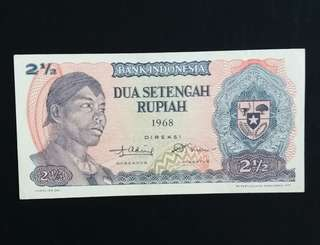 Indonesia Old Currency (1968) (Self Collect @Blk 113 J.E. St. 13, 600113)