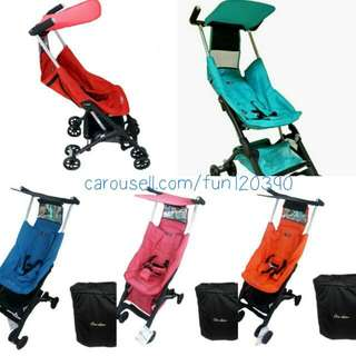 CHEAPEST! POCKIT Reclineable Stroller