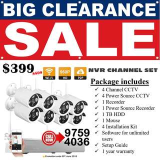 Great Singapore Sales GSS 2018 / Clearance Stock / Free 1 TB or 2 TB HDD