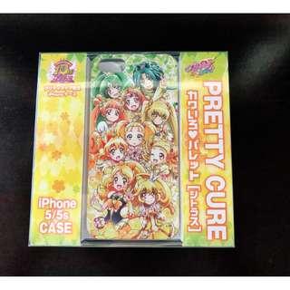 全新 日版 光之美少女 10週年 限定 黃綠 iphone 5 s 機殼 Precure Pretty Cure