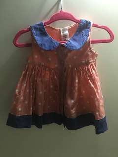 0-3 months dress/blouse