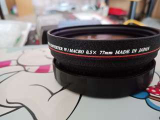 77mm Wide Conversion Lens for all DSLR camera