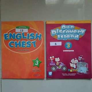 English Workbook 3 (take all)