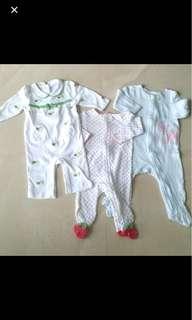 Carters 3-6mos baby girl pyjama