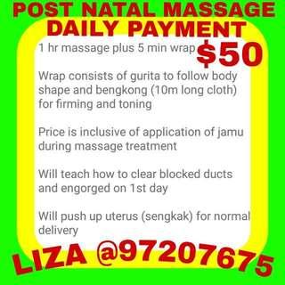 Post Natal Massage
