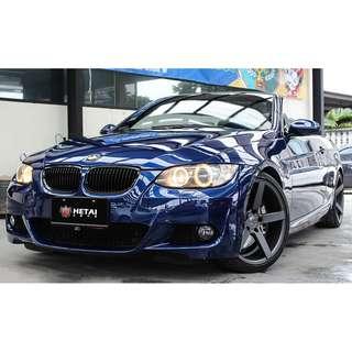 BMW 335I 藍