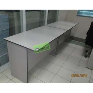 CNC 125C OFFICE TABLE WITH SIDE DRAWER CABINET--KHOMI