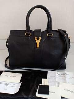 Preloved Authentic YSL Cabas Noir GHW 2012