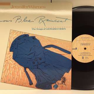 Jennifer Warnes - Famous Blue Raincoat LP Collection 藍雨褸黑膠唱片