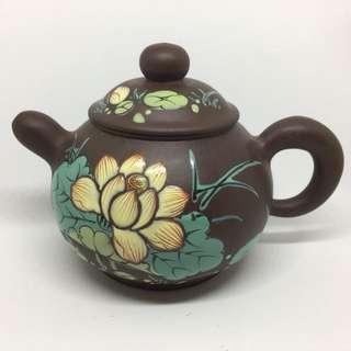 Teapot Zisha Lotus
