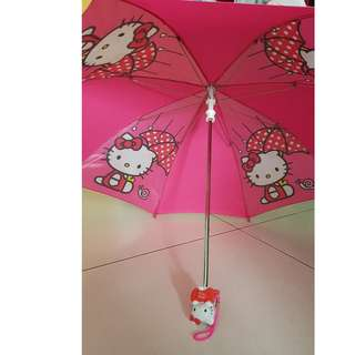 Very new Hello Kitty umbrella for kids 1-4 years old