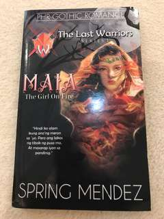 PHR Gothic Romance The Last Warriors (Series #1 MAIA)
