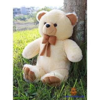 BONEKA TEDDY BEAR COKLAT 75CM XL MODEL IMPORT