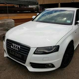 AUDI A4 TFSi SLINE 2009 TUNED TO STAGE 2