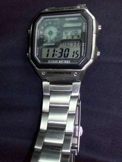 Casio illuminator