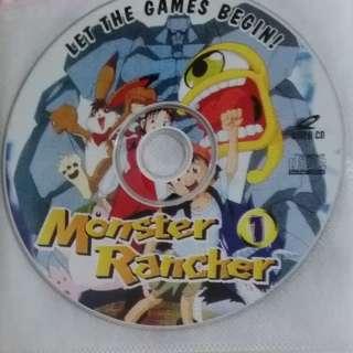 Monster Rancher English Cartoon VCD Children Kids Video